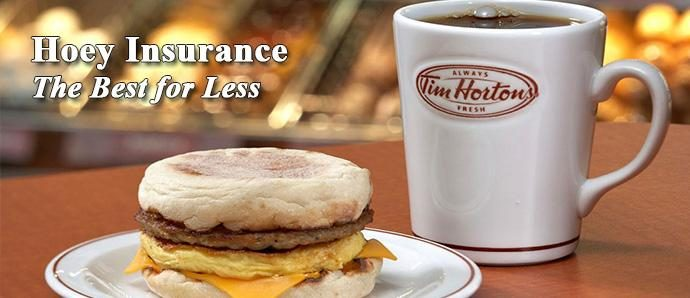 Free $10 Tim Hortons Card with Insurance quote!