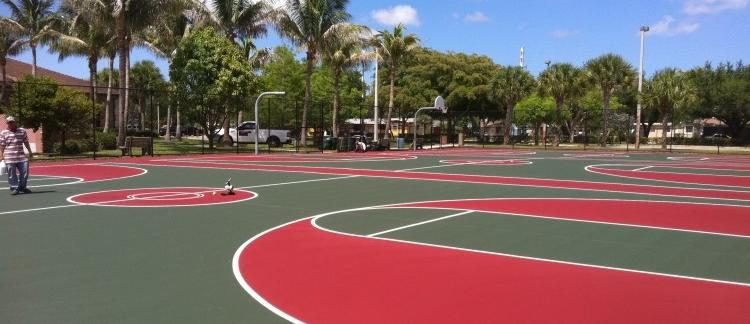 Daytona Beach's Best Deals on Tennis Court Installation | Basketball Courts | Running Tracks